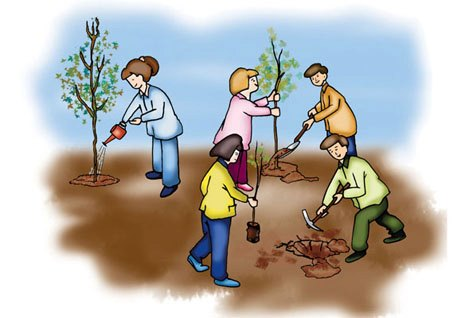 عيد غرس الأشجار