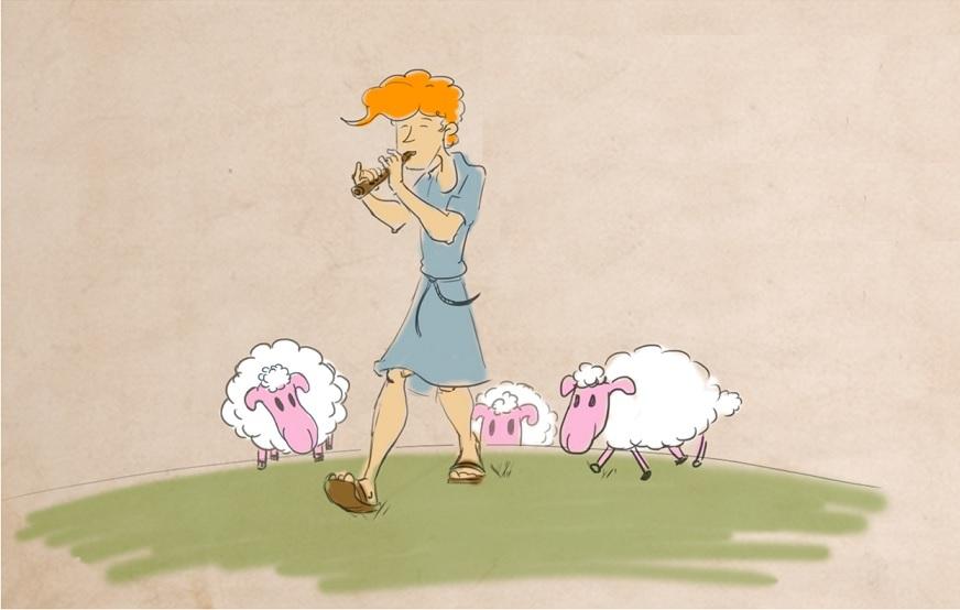 רועה צאן: איור: רותם אהרון