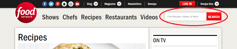 Comparing websites online recipes food network forumfinder Images