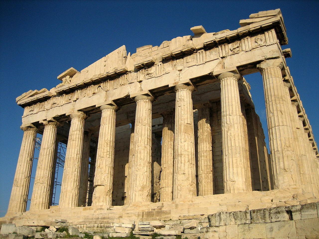 הפרתנון: מקדש יווני באתונה העתיקה