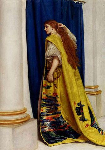 ציור של אסתר המלכה