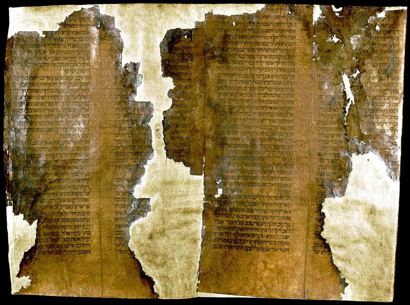 סיפור של עבר-הווה-עתיד בתוך גווילים עתיקים.